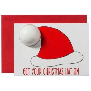 Santa Hat Blastercard