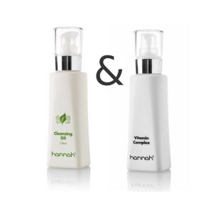 Cleansing Oil 125ml plus Vitamin Complex 125ml